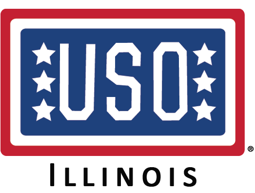 USO of Illinois logo