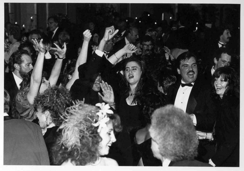 Photo of the first Theatre School Gala in 1989.
